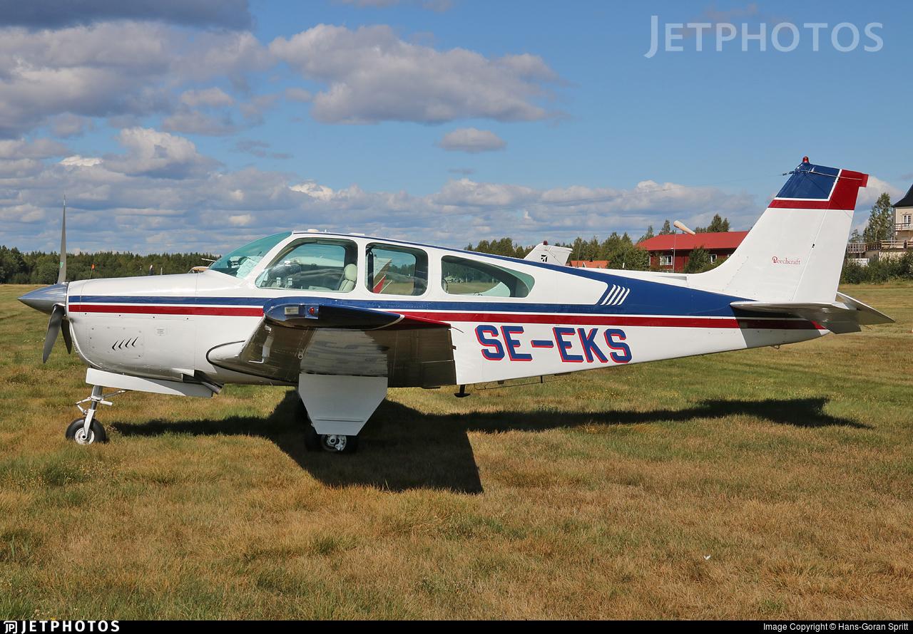 SE-EKS - Beechcraft C33 Debonair - Private