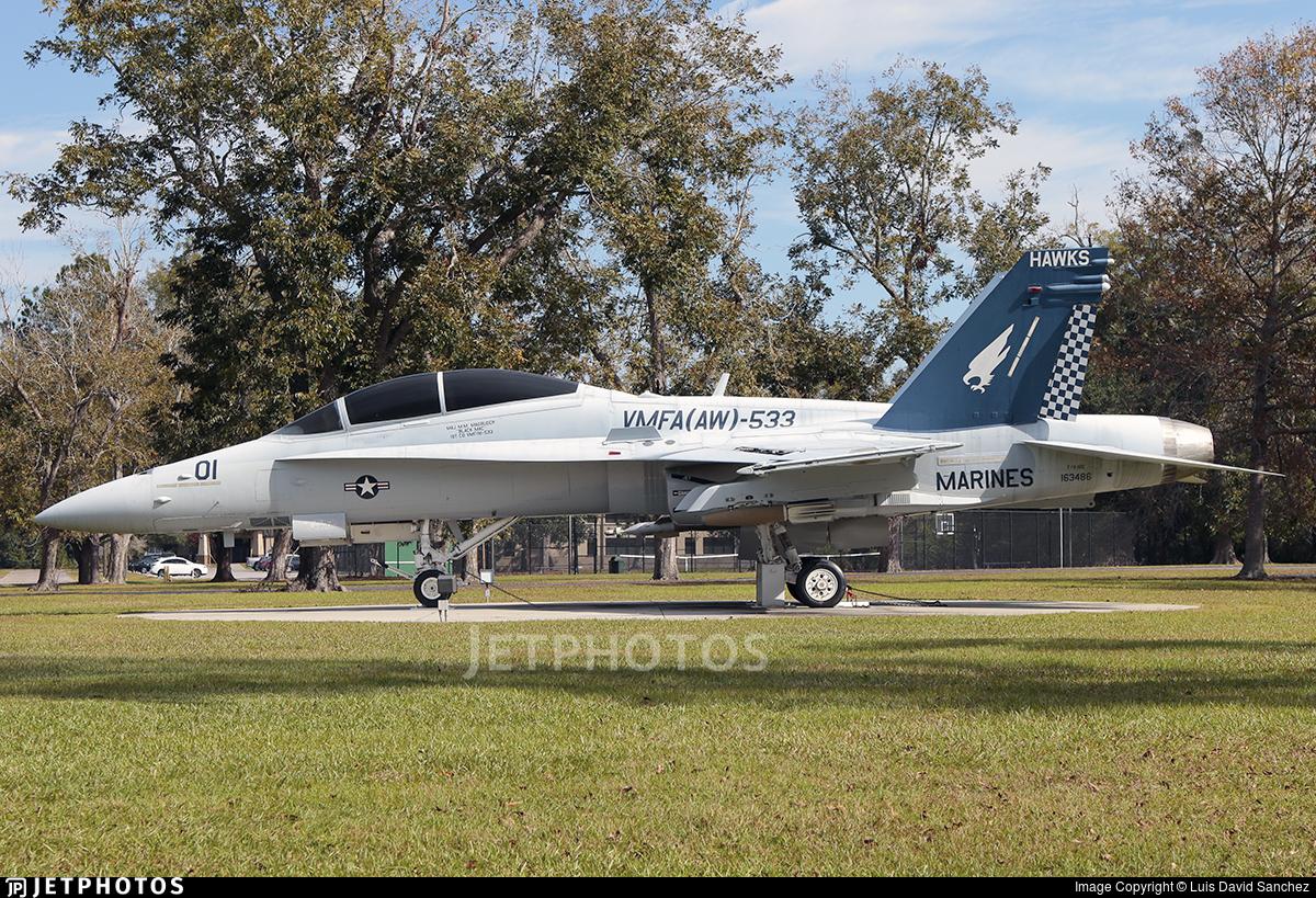163486 - McDonnell Douglas F/A-18D Hornet - United States - US Marine Corps (USMC)