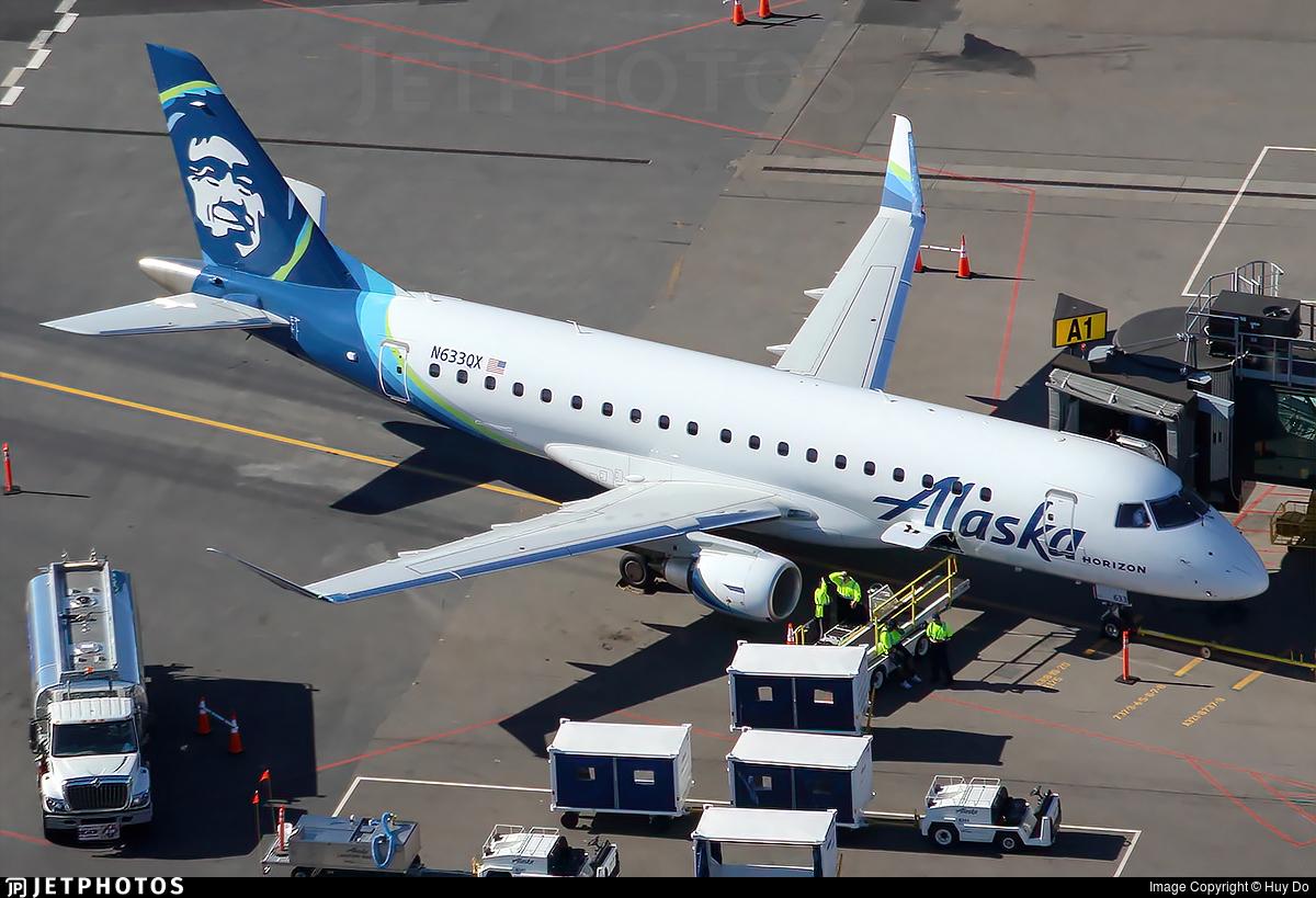 N633QX - Embraer 170-200LR - Alaska Airlines (Horizon Air)