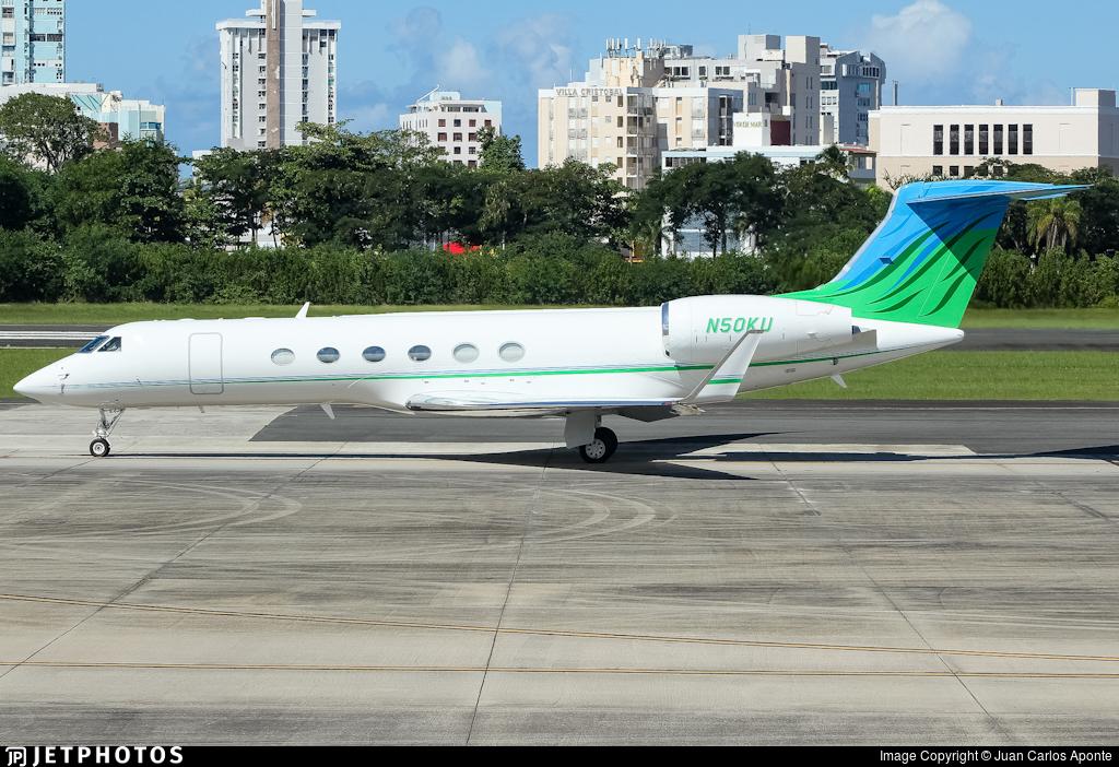 N50KU - Gulfstream G-V - Private