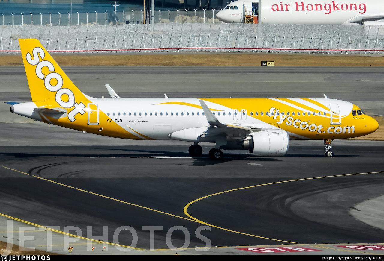 9V-TNB - Airbus A320-271N - Scoot
