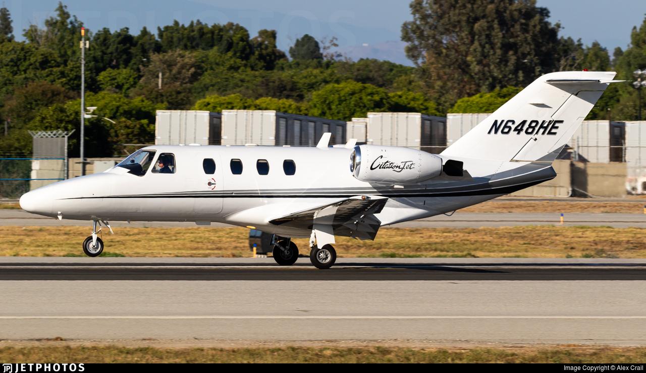 N648HE - Cessna 525 Citationjet CJ1 - Private