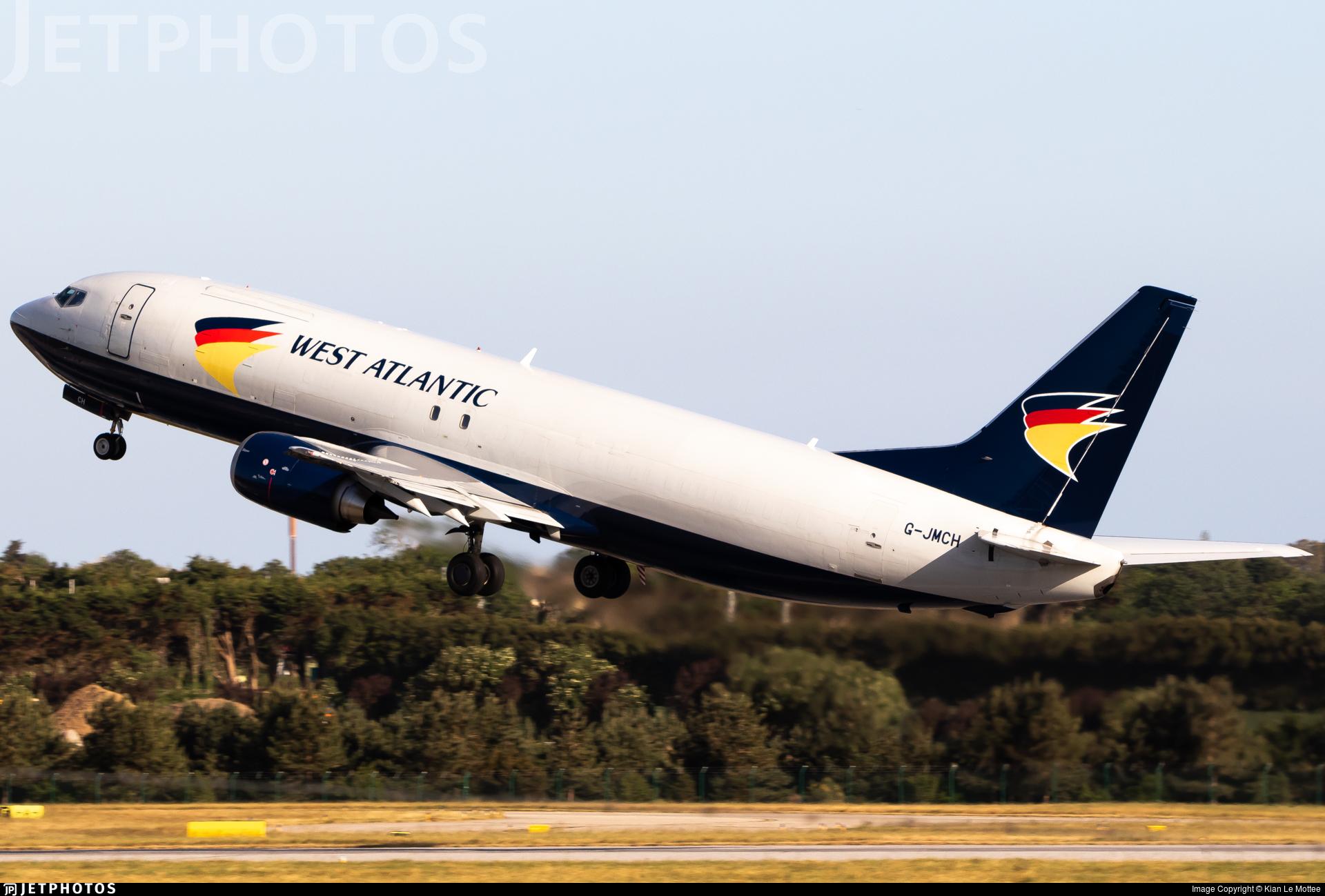 G-JMCH - Boeing 737-476(SF) - West Atlantic Airlines