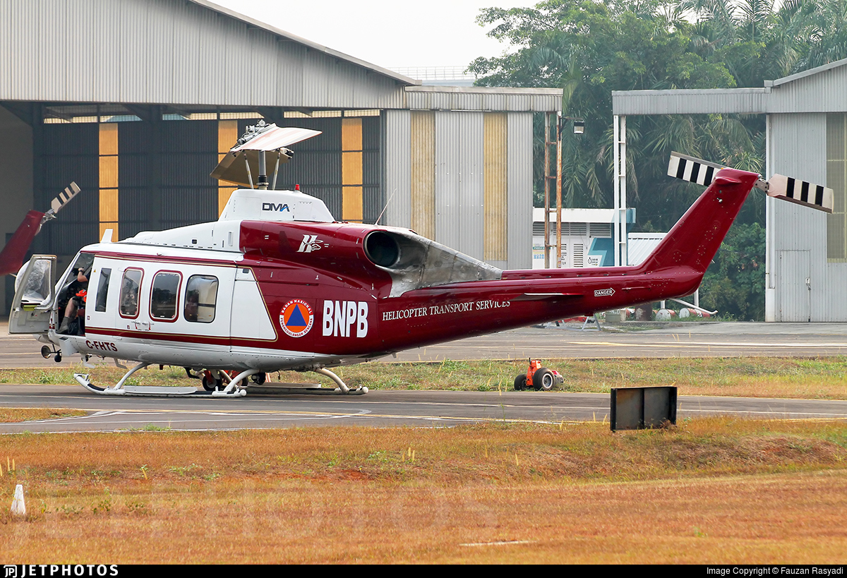 C-FHTS - Bell 214ST - Helicopter Transport Services