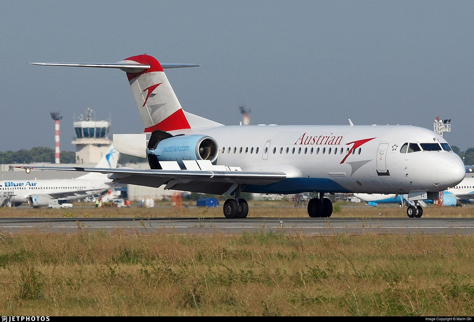 OE-LFJ - Fokker 70 - Austrian Airlines