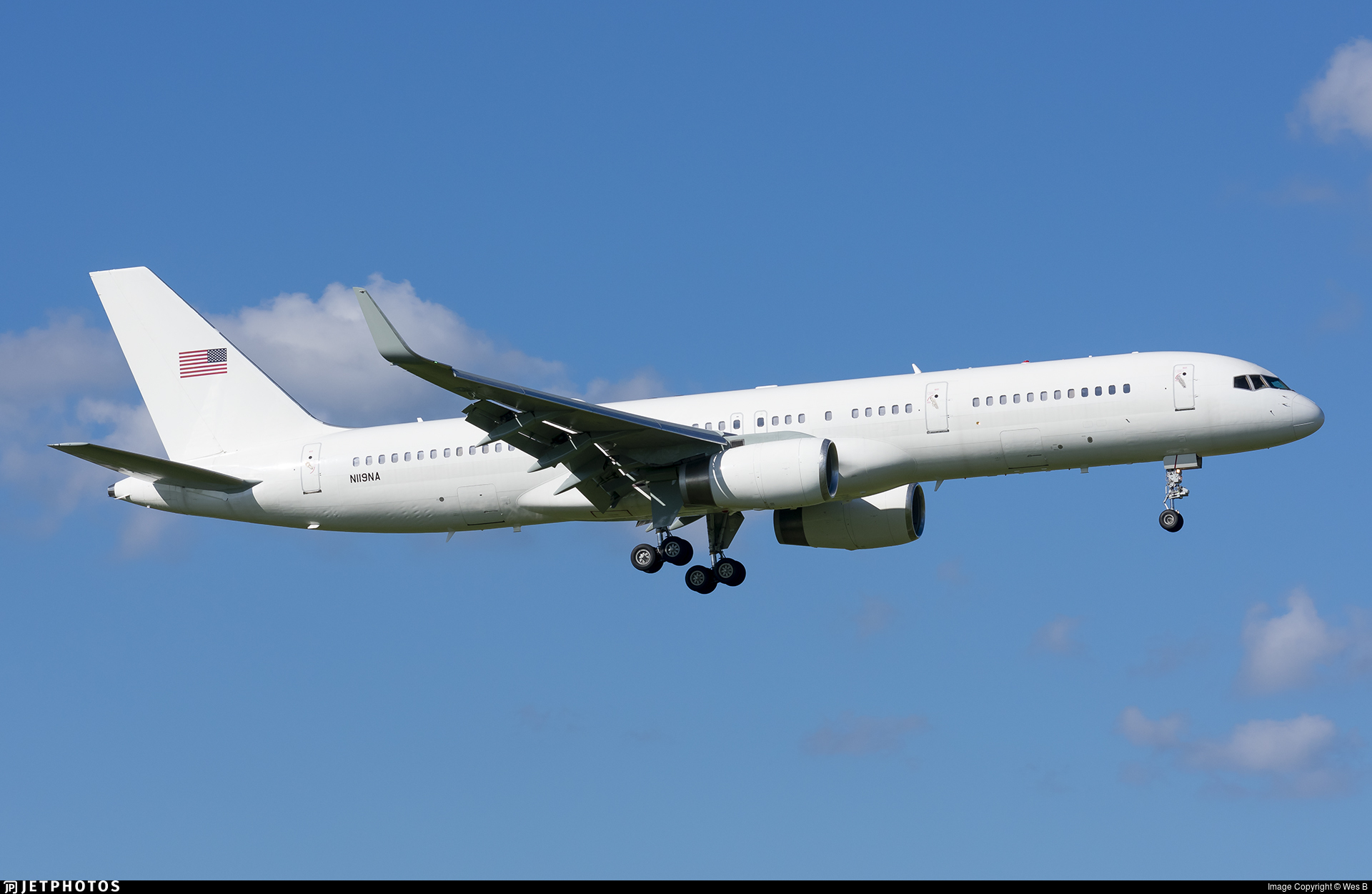 N119NA - Boeing 757-223 - United States - Department of Justice (DOJ)