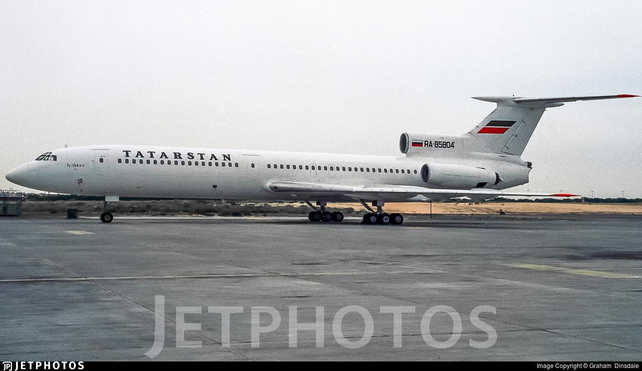 RA-85804 - Tupolev Tu-154M - Tatarstan Airlines