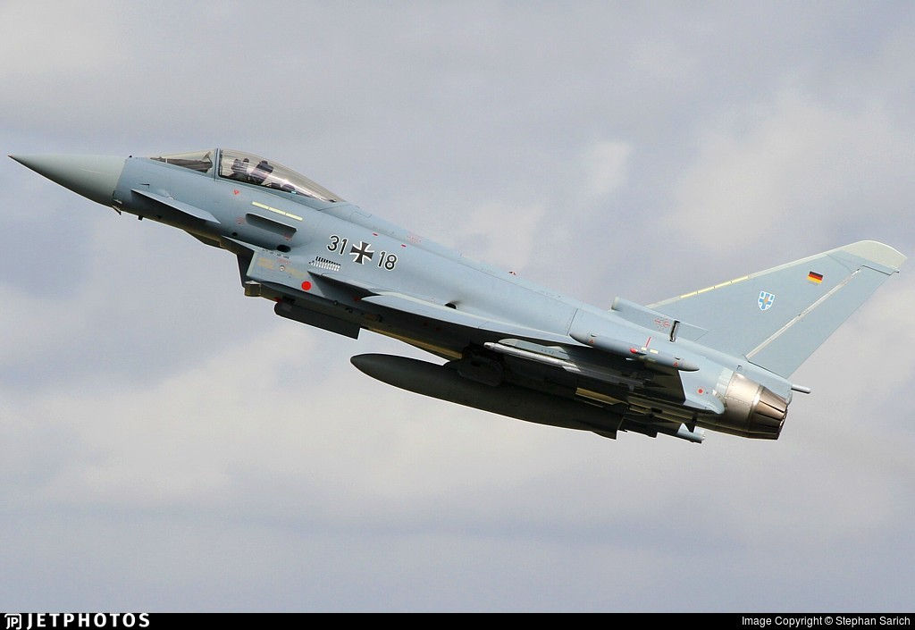 31-18 - Eurofighter Typhoon EF2000 - Germany - Air Force