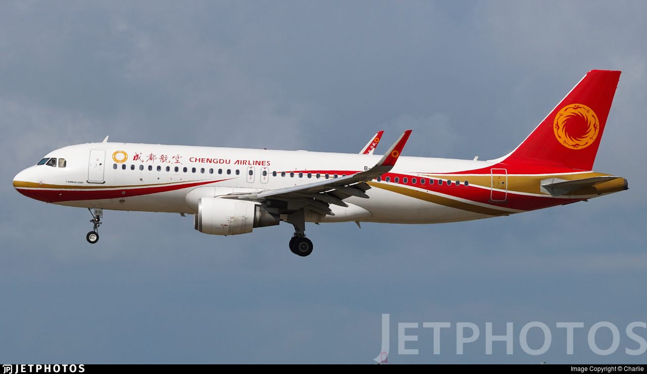 B-1631 - Airbus A320-214 - Chengdu Airlines