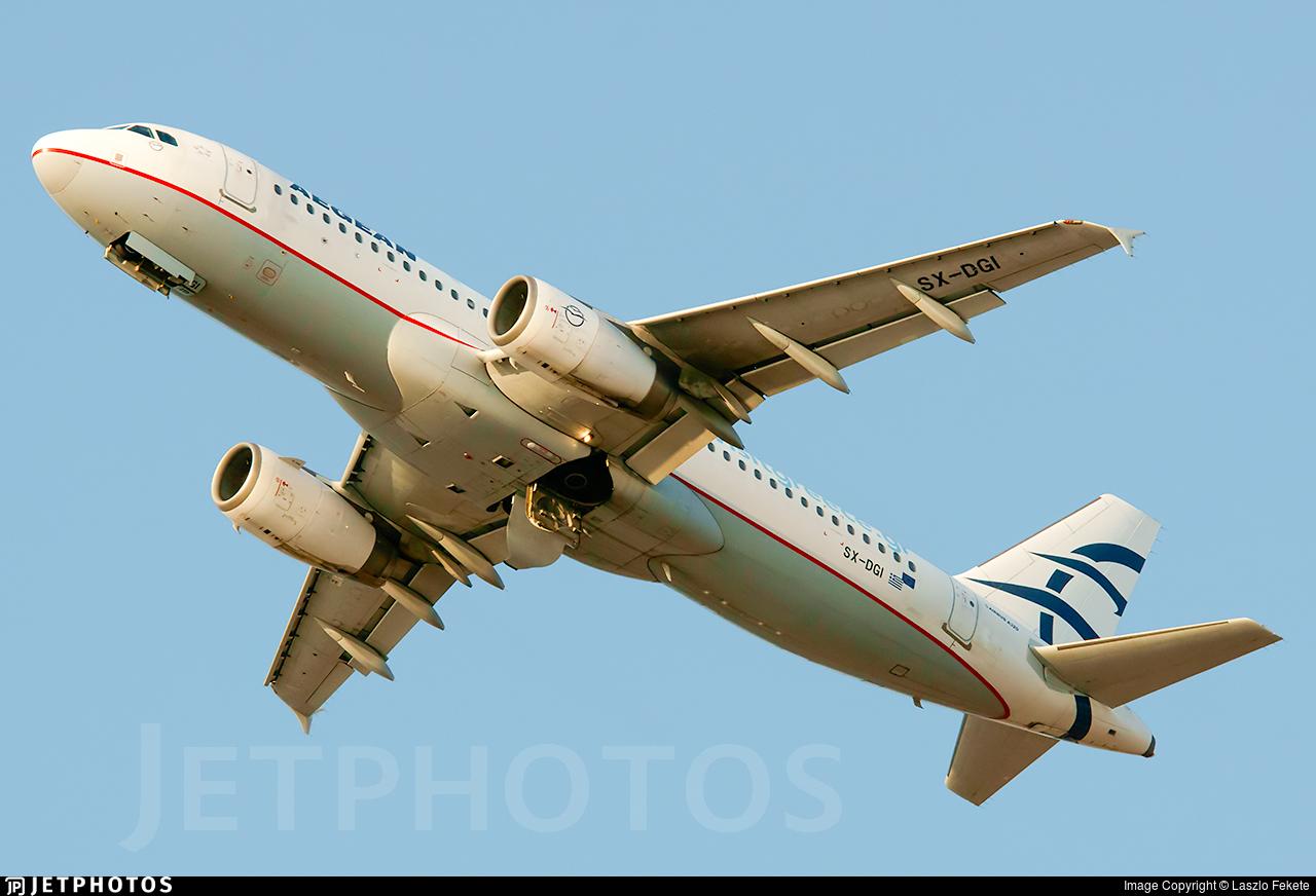 SX-DGI - Airbus A320-232 - Aegean Airlines