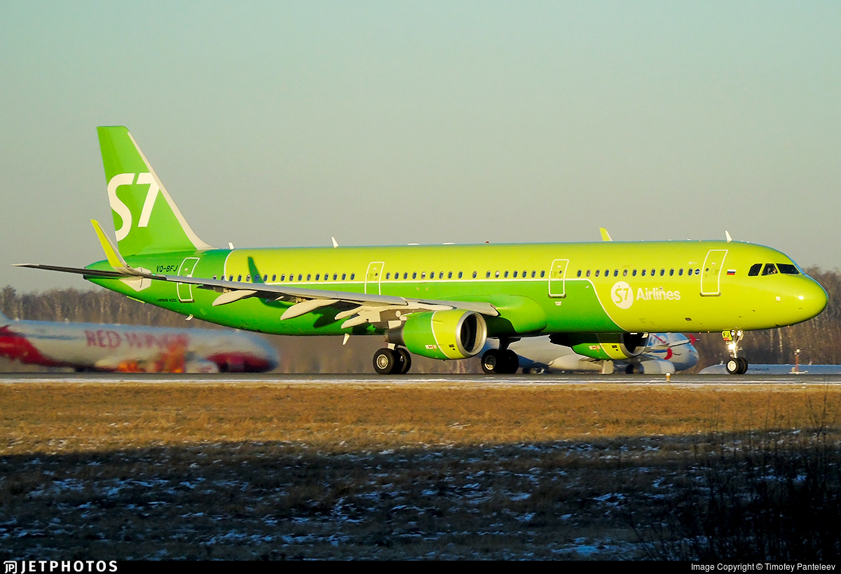 VQ-BFJ - Airbus A321-211 - S7 Airlines