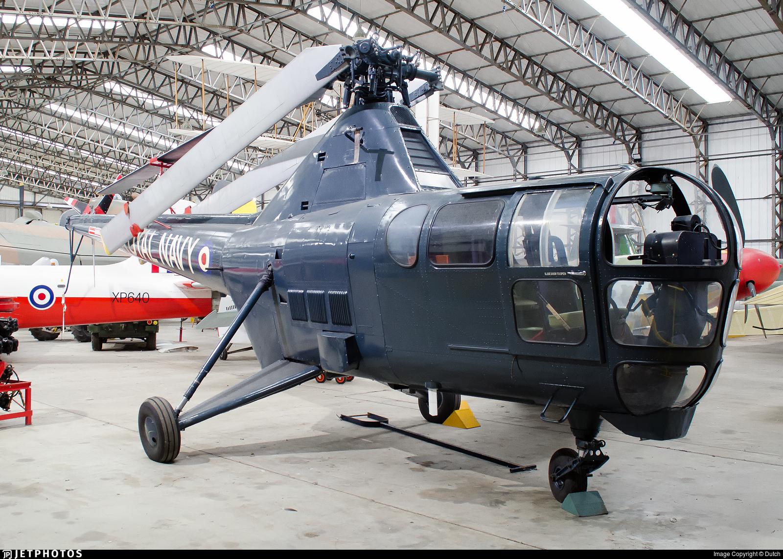 WH991 - Westland Dragonfly HR.3 - United Kingdom - Royal Navy