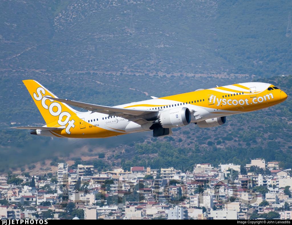 9V-OFH - Boeing 787-8 Dreamliner - Scoot