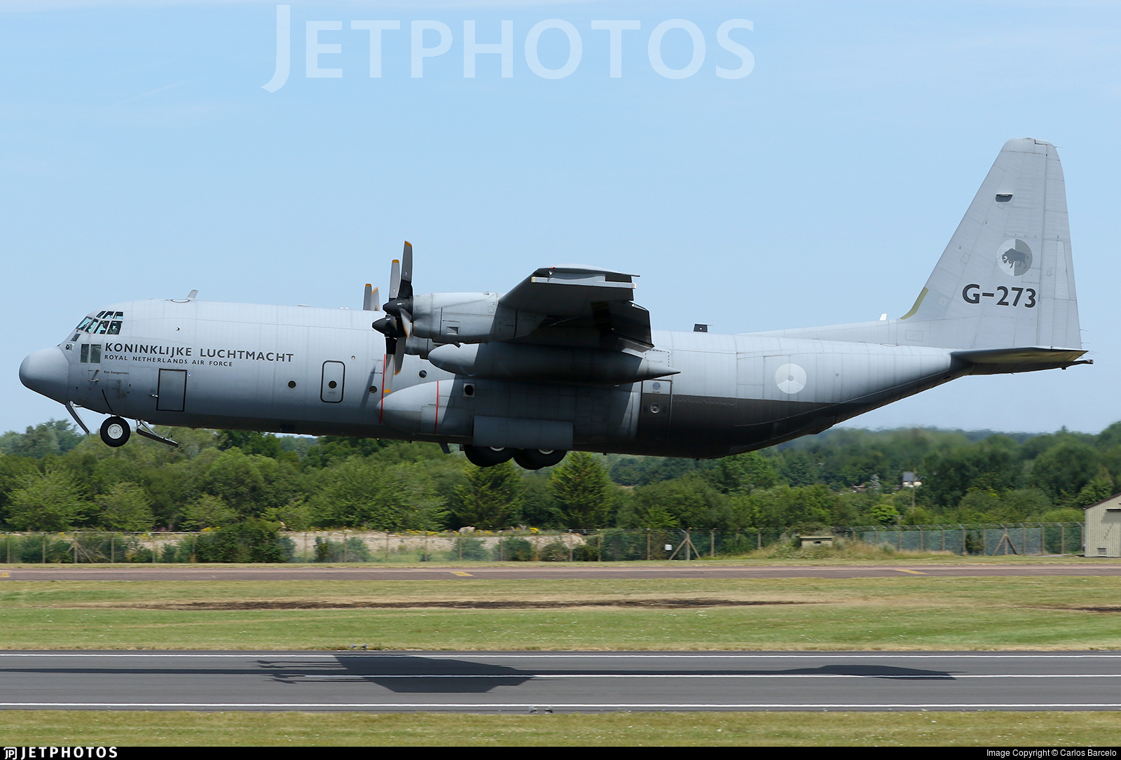 G-273 - Lockheed C-130H-30 Hercules - Netherlands - Royal Air Force