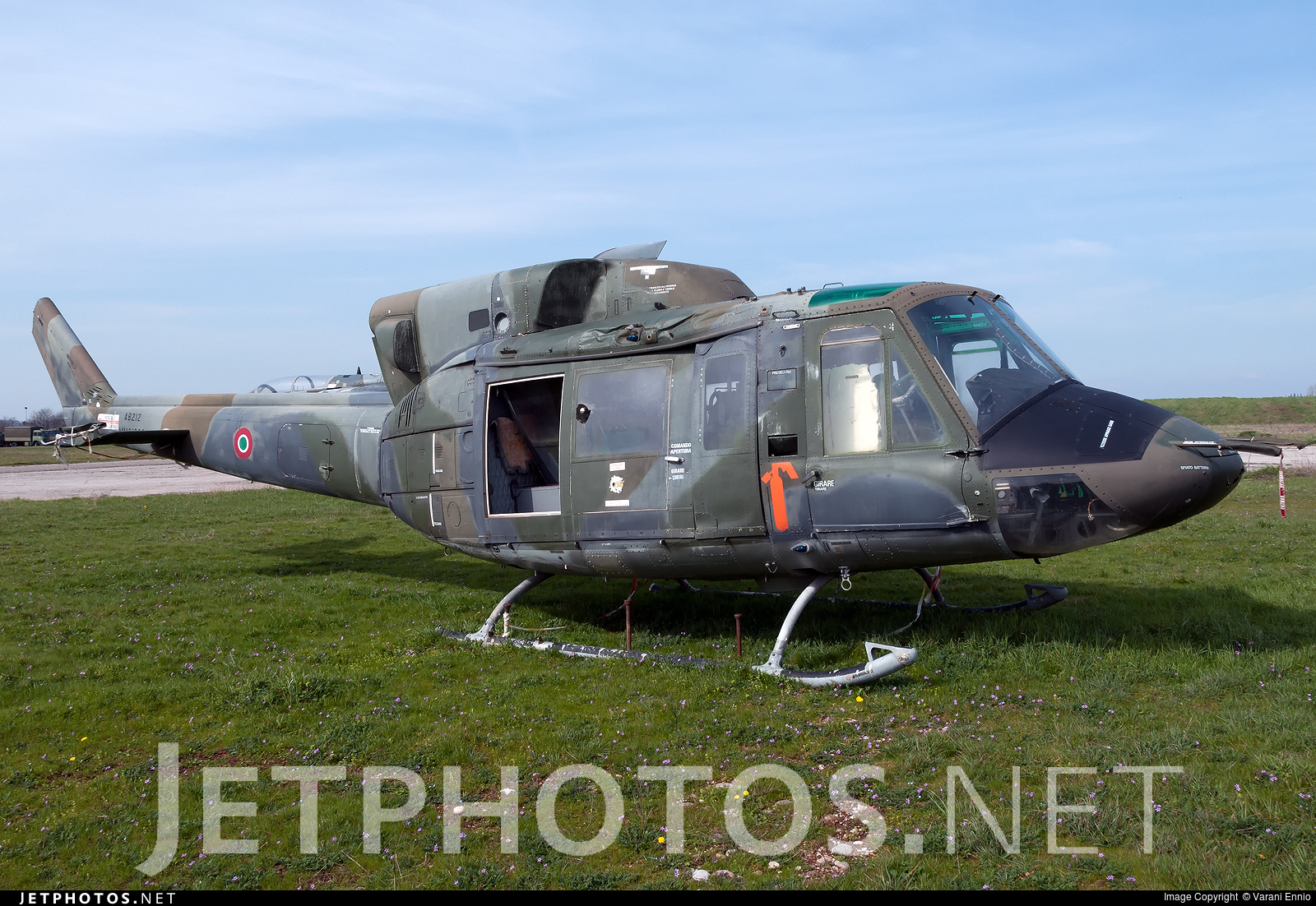 MM81208 - Agusta-Bell AB-212AM - Italy - Air Force