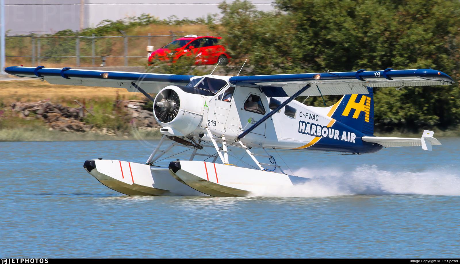 C-FWAC - De Havilland Canada DHC-2 Mk.I Beaver - Harbour Air