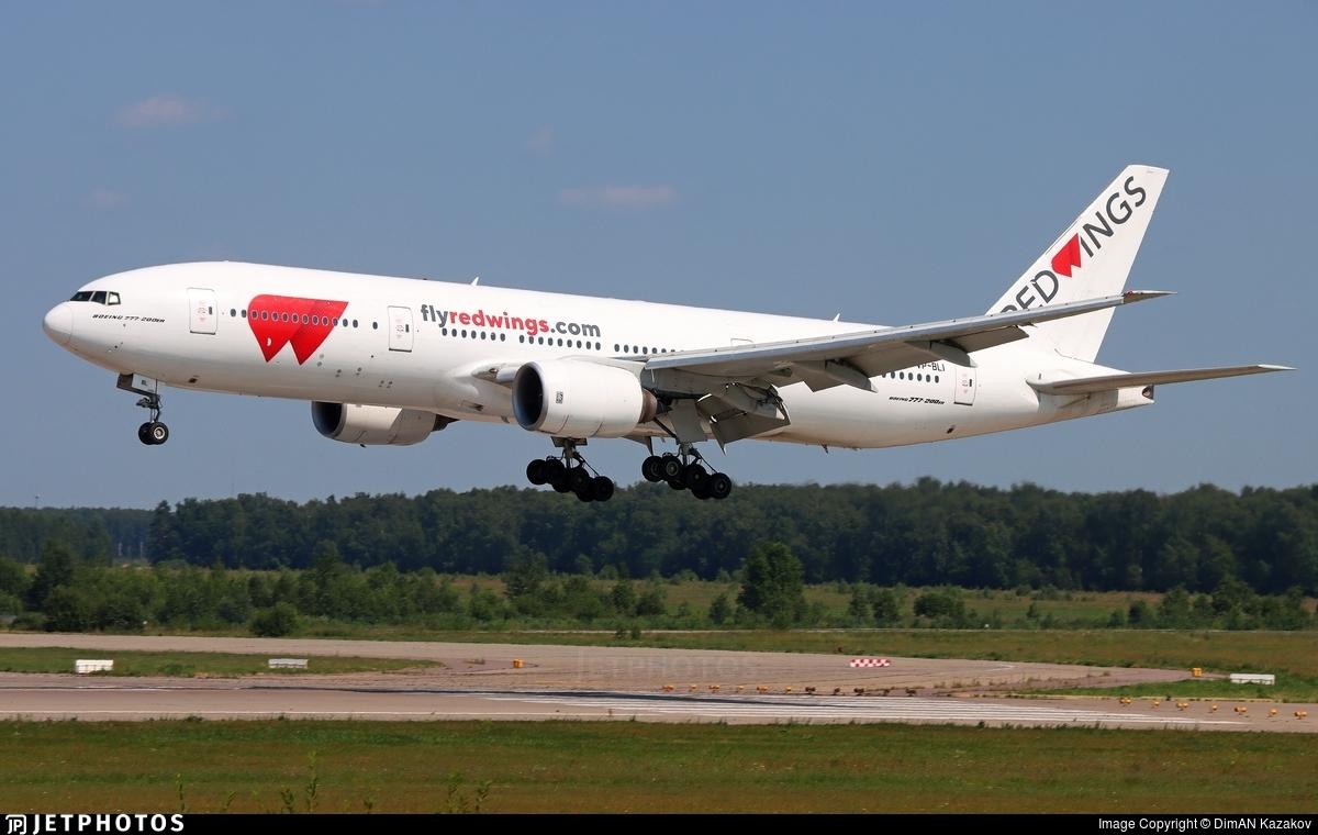 VP-BLI - Boeing 777-21H(ER) - Red Wings