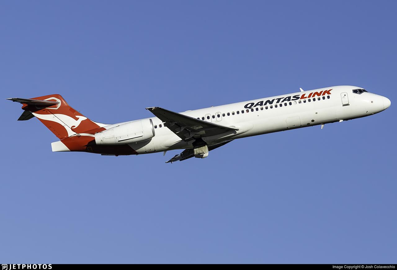 VH-YQU - Boeing 717-2BL - QantasLink