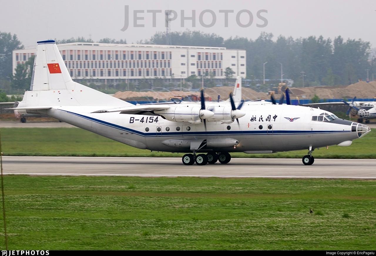 B-4154 - Shaanxi Y-8F-100 - Civil Aviation Administration of China (CAAC)