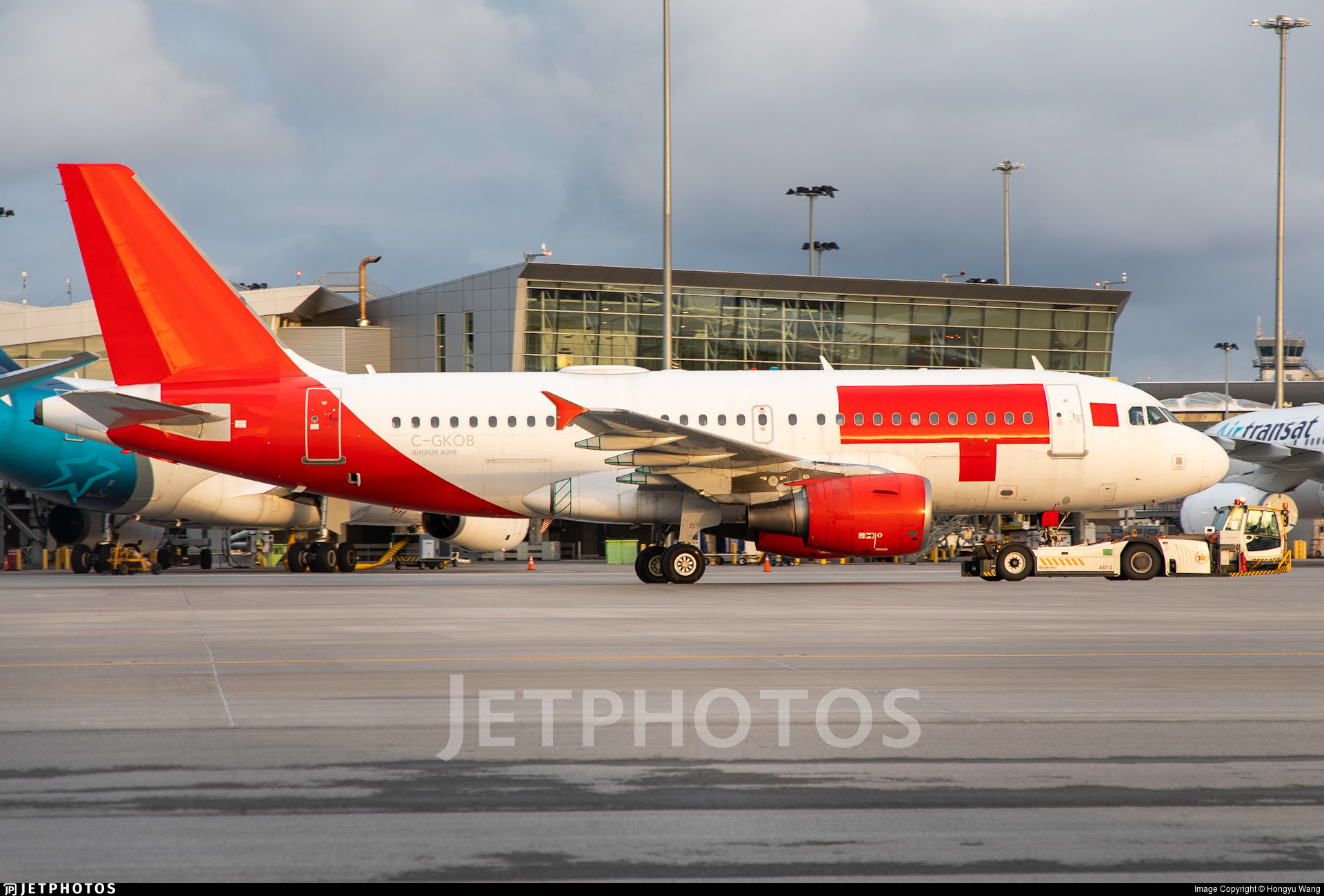 C-GKOB - Airbus A319-112 - Untitled