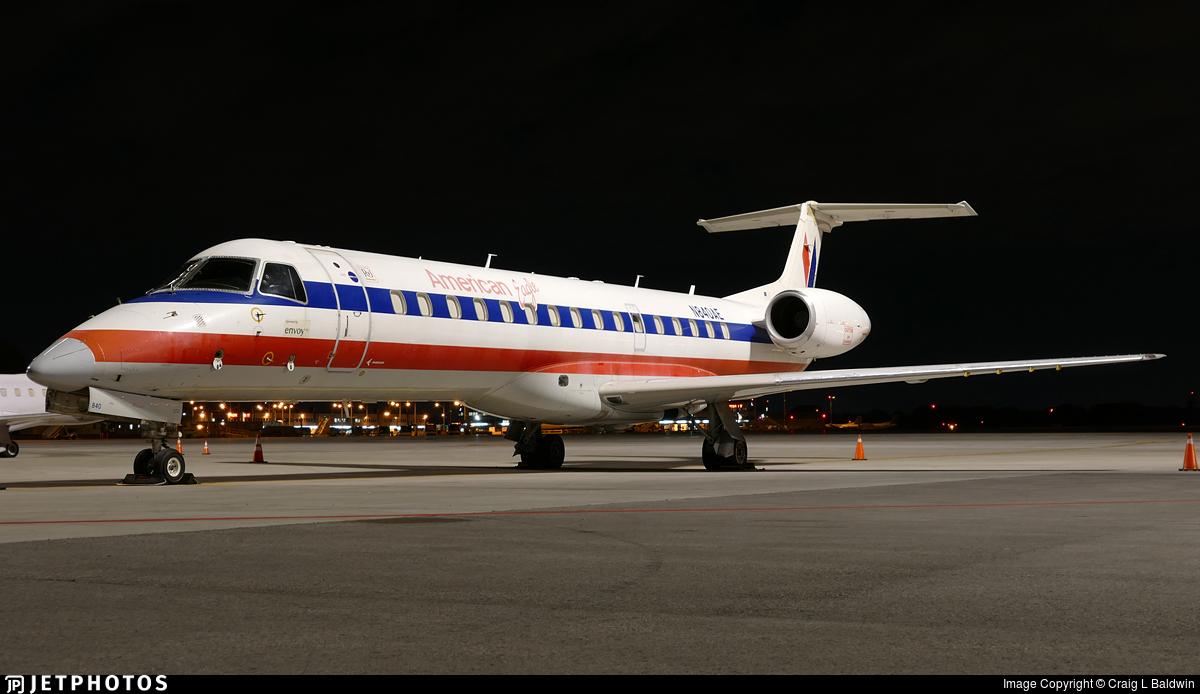N840AE - Embraer ERJ-140LR - American Eagle (Envoy Air)