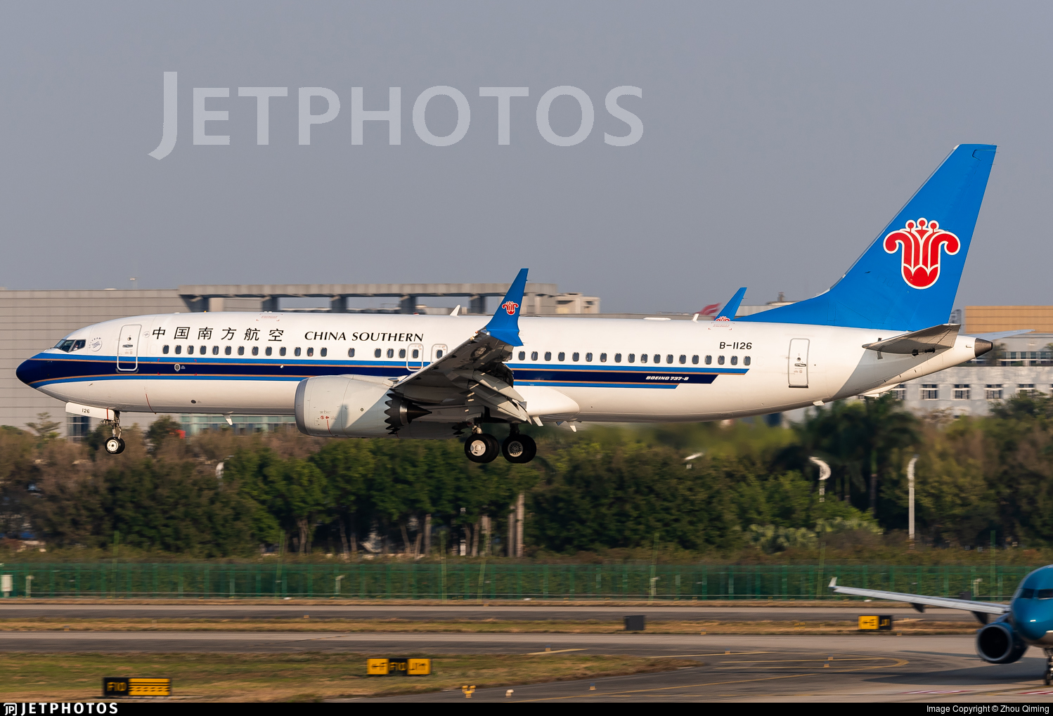 B-1126 - Boeing 737-8 MAX - China Southern Airlines