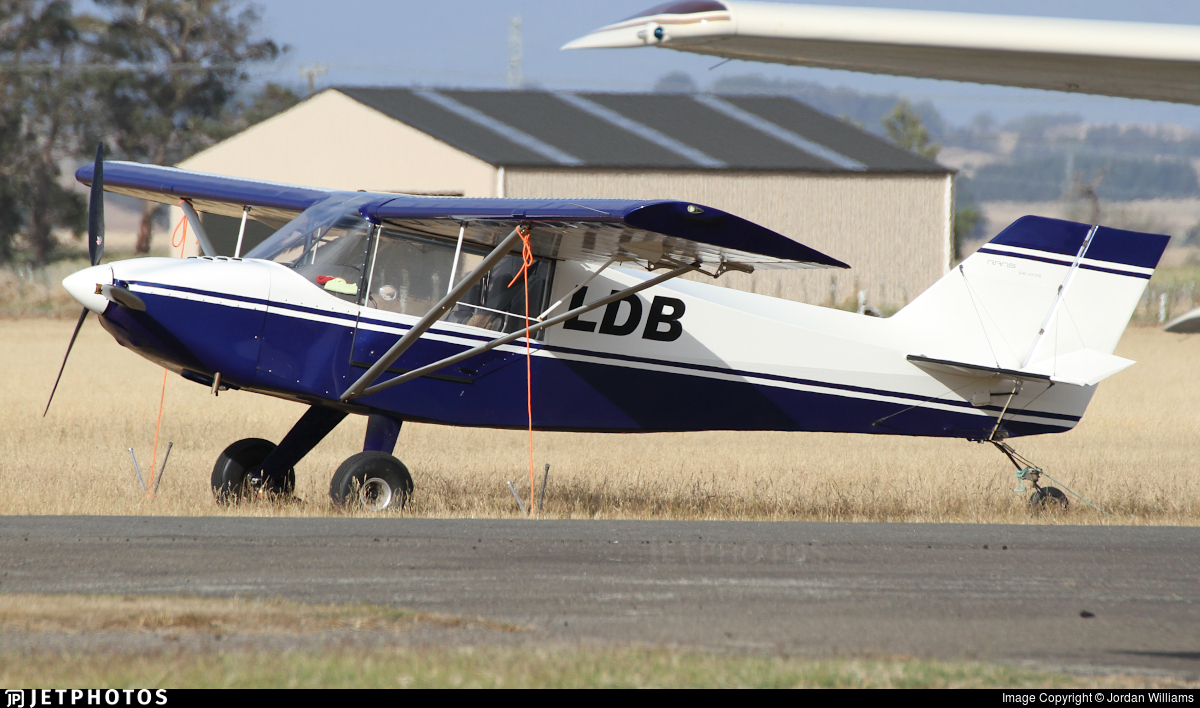 ZK-LDB - Rans S-6S Coyote II - Private
