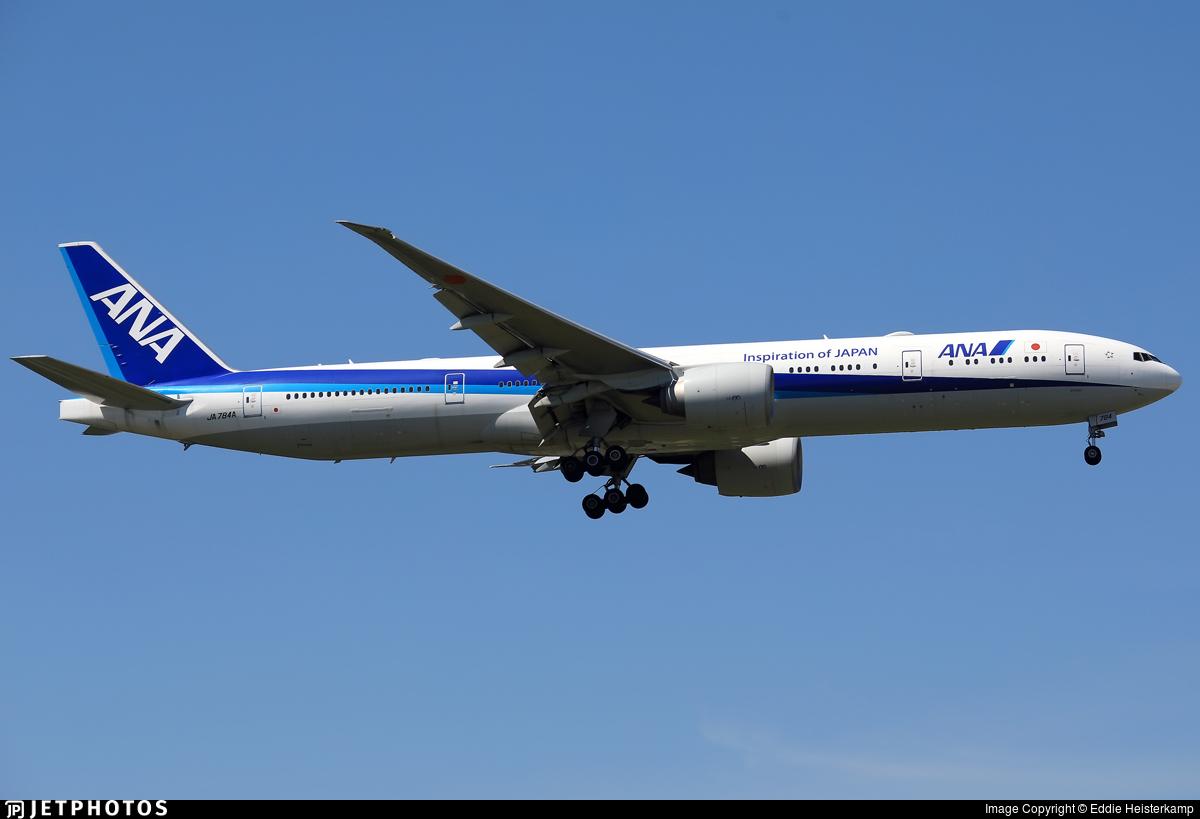 JA784A - Boeing 777-381ER - All Nippon Airways (ANA)