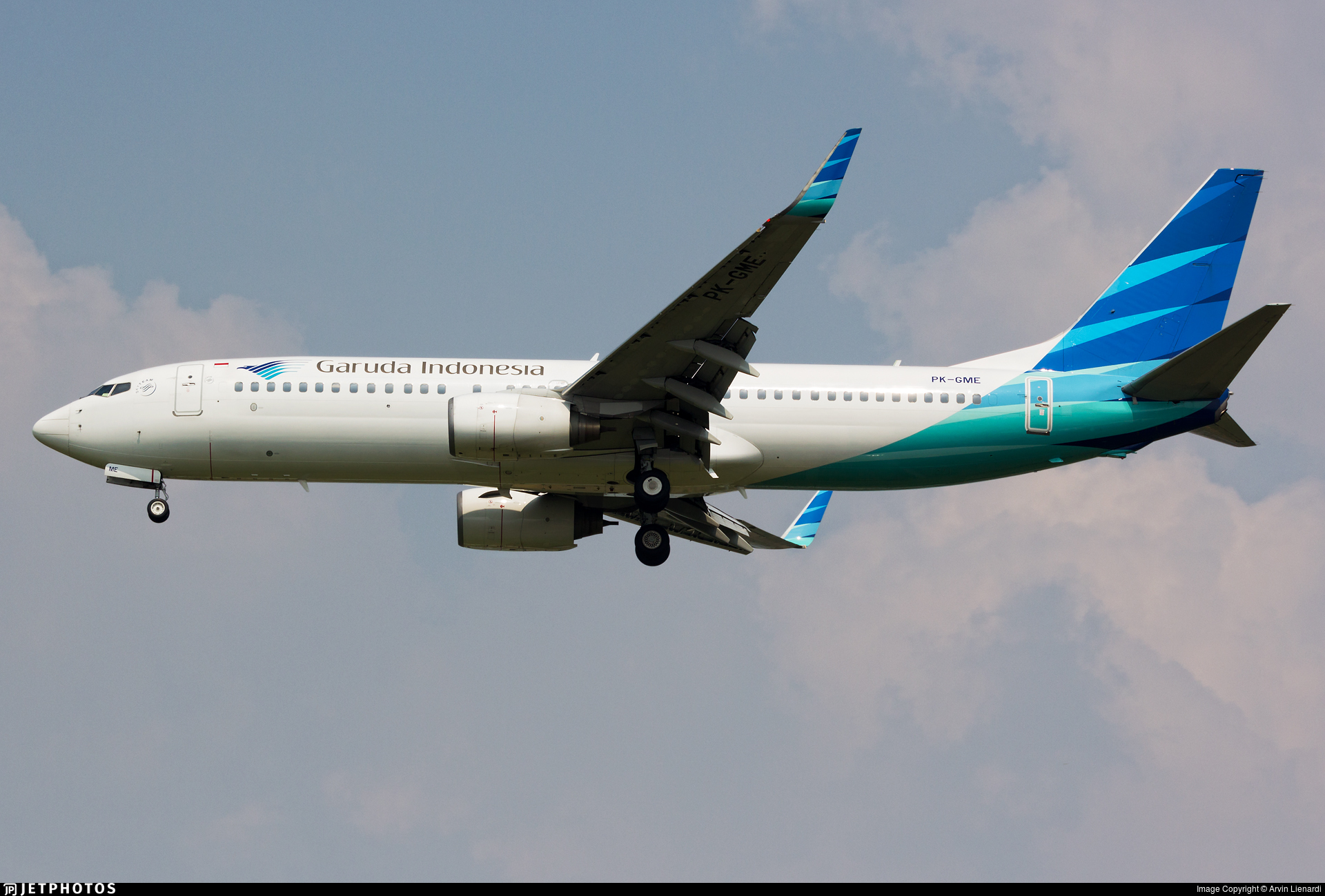 PK-GME - Boeing 737-8U3 - Garuda Indonesia