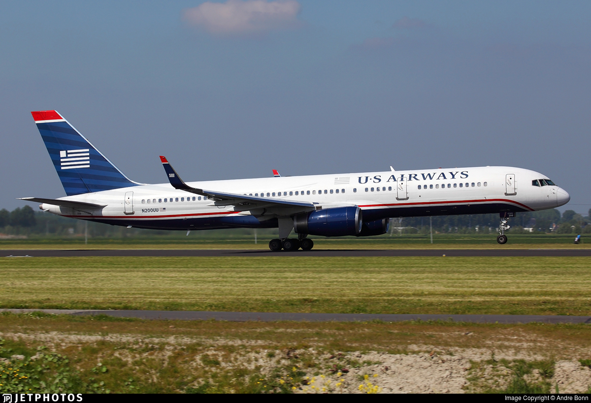 N200UU - Boeing 757-2B7 - US Airways