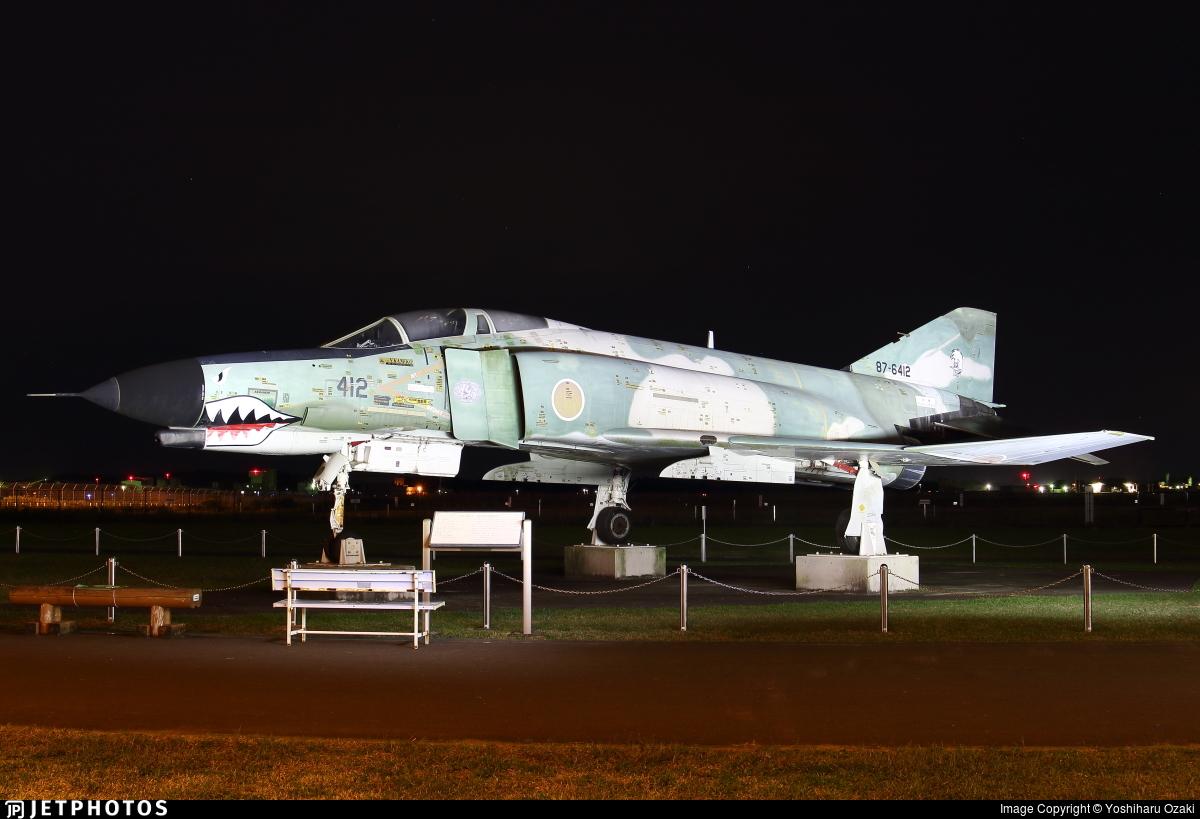 87-6412 - McDonnell Douglas RF-4EJ Kai - Japan - Air Self Defence Force (JASDF)