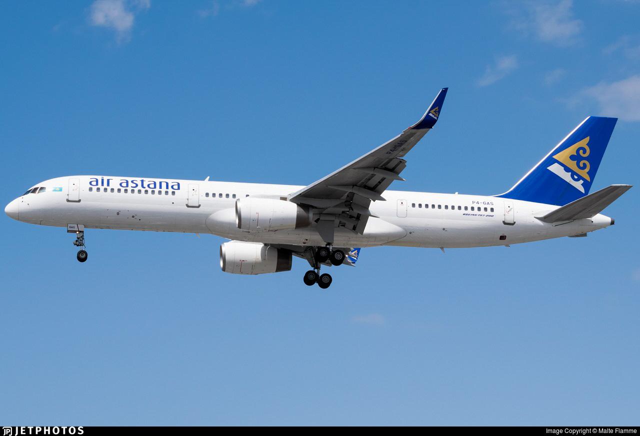 P4-GAS - Boeing 757-2G5 - Air Astana