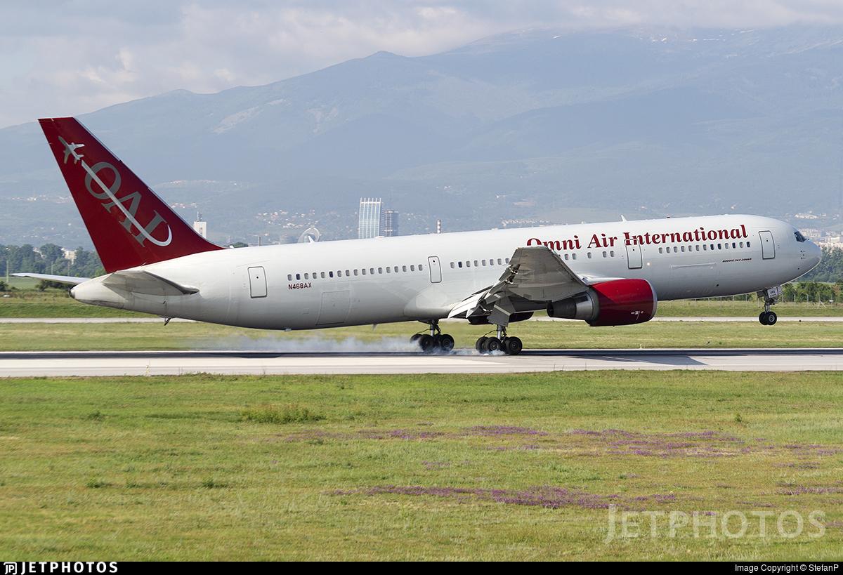 N468AX - Boeing 767-36N(ER) - Omni Air International (OAI)