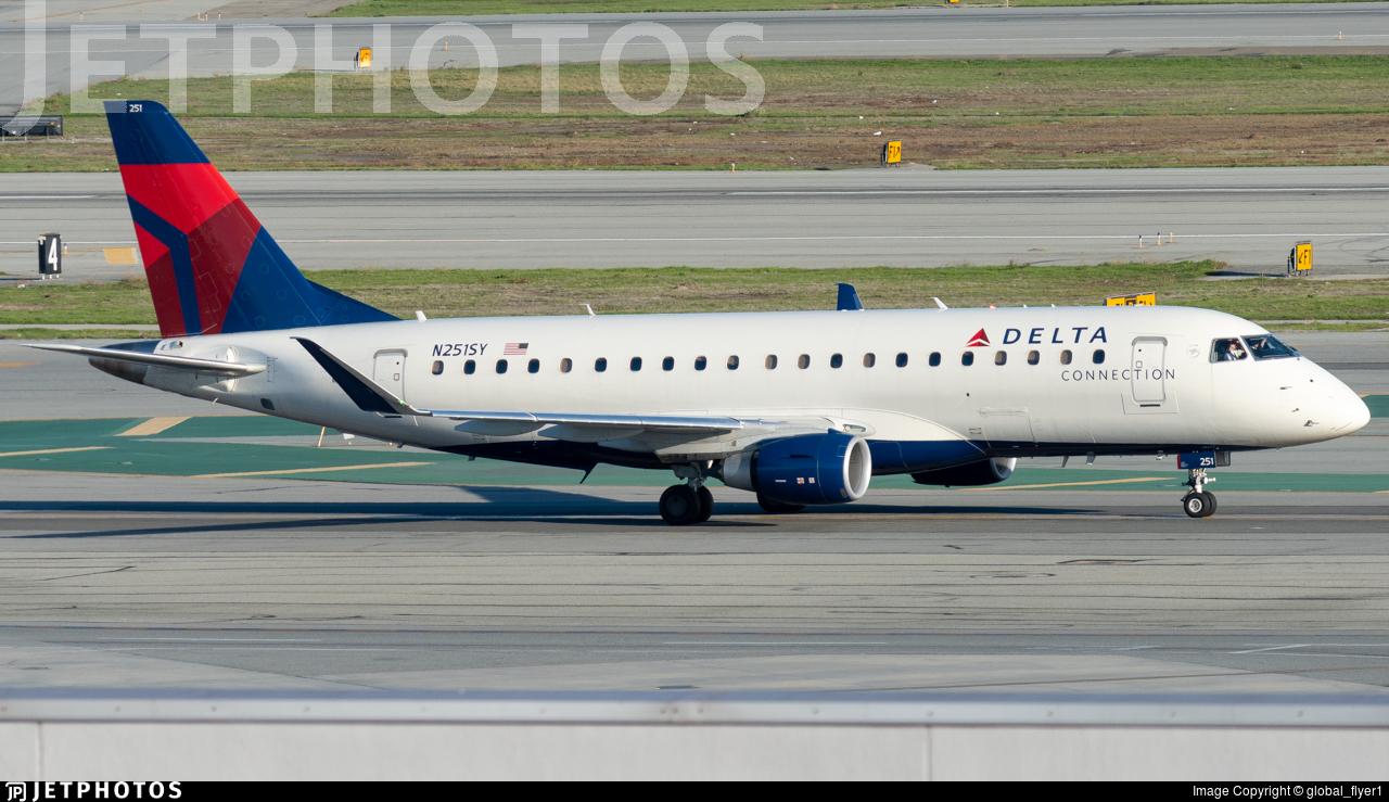 N251SY - Embraer 170-200LR - Delta Connection (SkyWest Airlines)