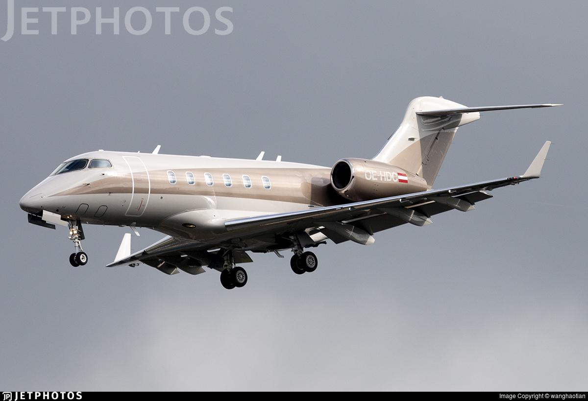 OE-HDC - Bombardier BD-100-1A10 Challenger 300 - Amira Air