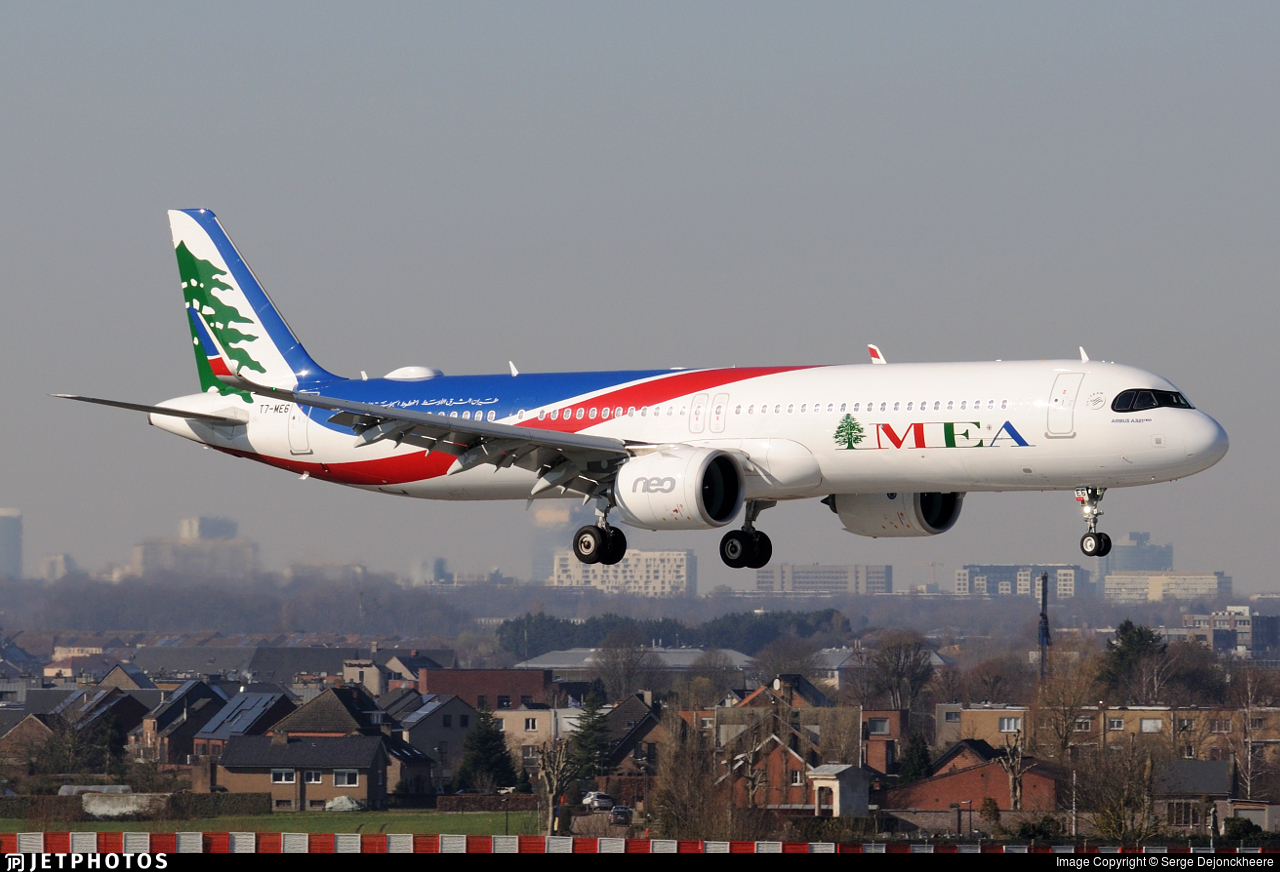 T7-ME6 - Airbus A321-271NX - Middle East Airlines (MEA)