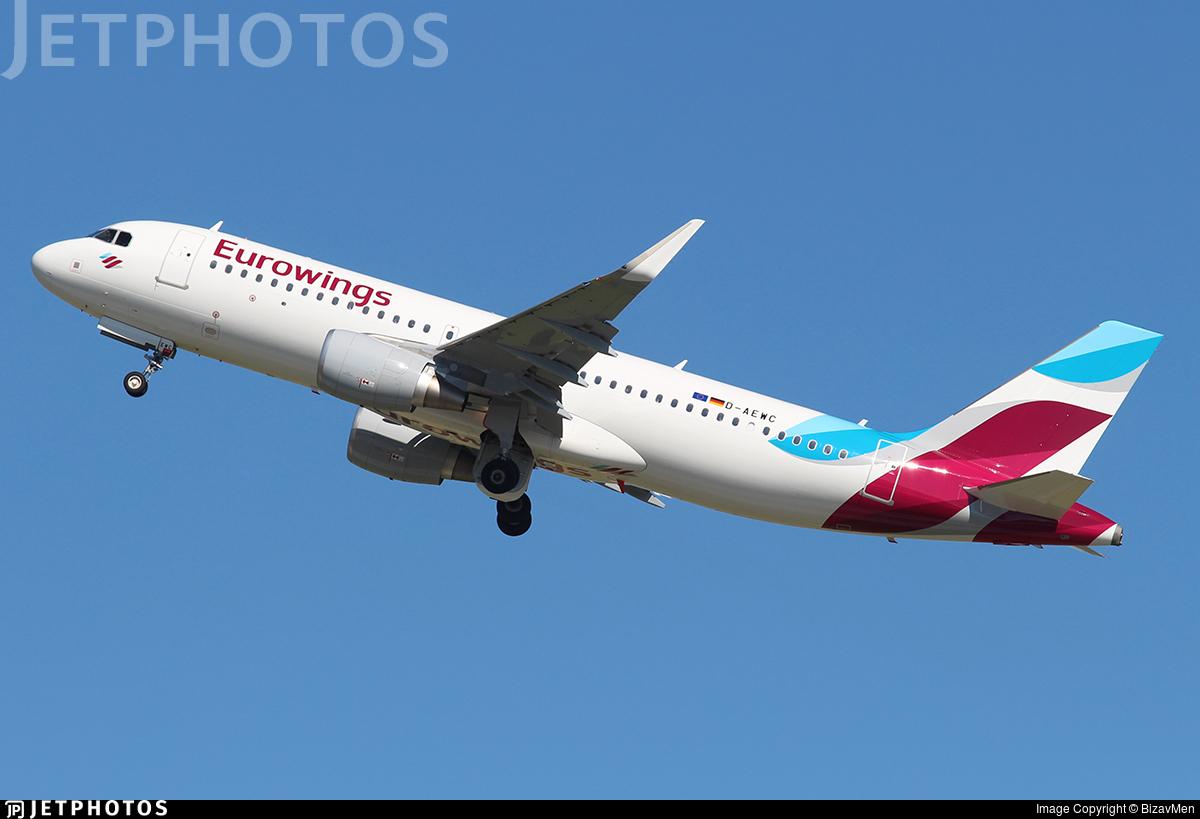 D-AEWC - Airbus A320-214 - Eurowings