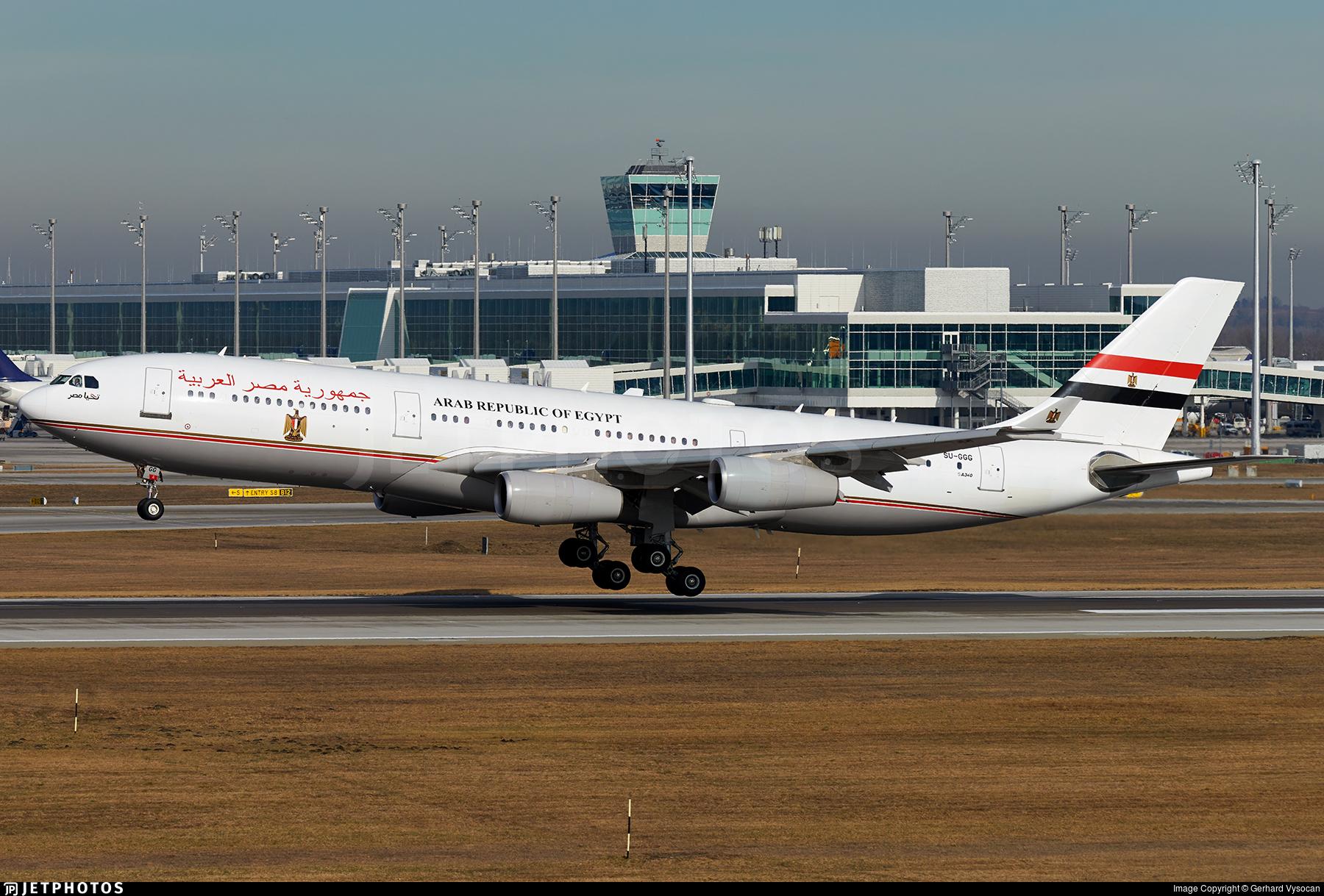 SU-GGG - Airbus A340-211 - Egypt - Government