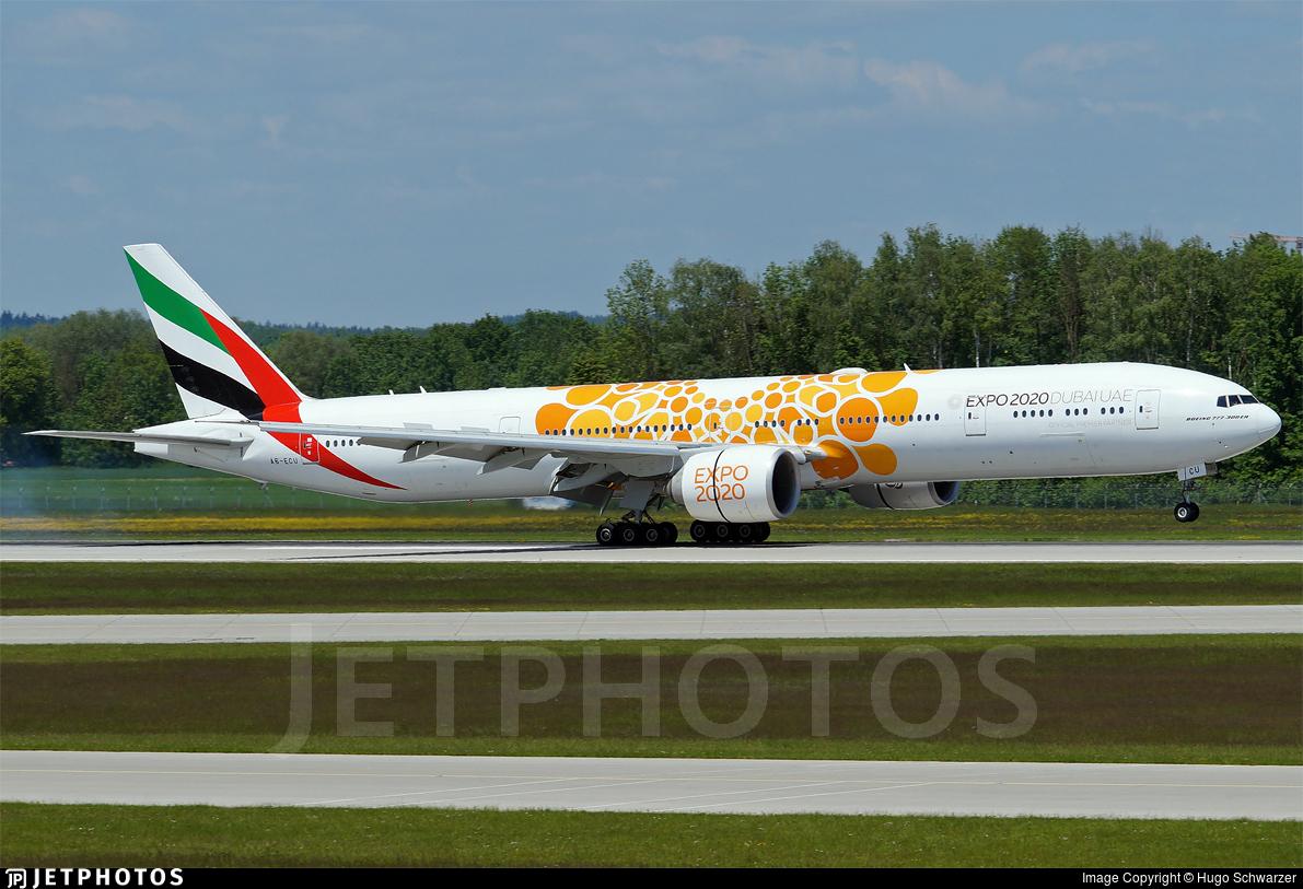 A6-ECU - Boeing 777-31HER - Emirates