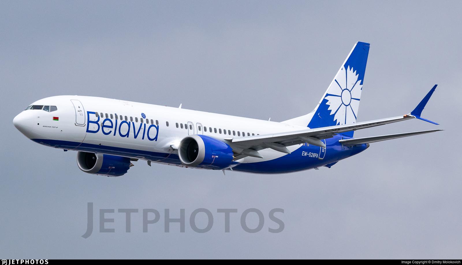 EW-528PA - Boeing 737-8 MAX - Belavia Belarusian Airlines