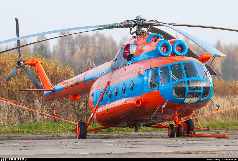 RA-25588 - Mil Mi-8TB Hip - Vologda Air