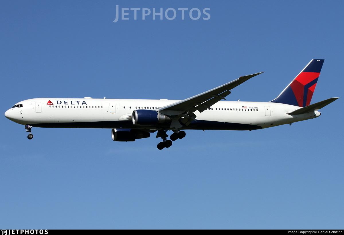N833MH - Boeing 767-432(ER) - Delta Air Lines