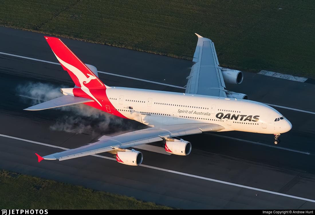 VH-OQG - Airbus A380-842 - Qantas