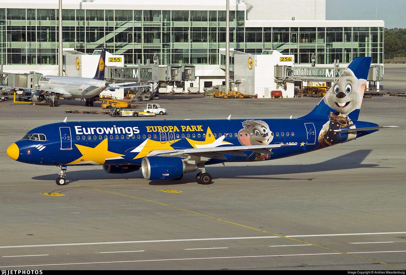 D-ABDQ - Airbus A320-214 - Eurowings (Air Berlin)