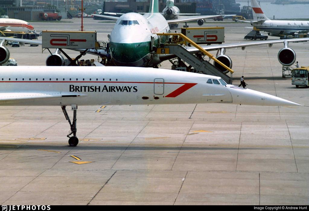 G-BOAD - Aérospatiale/British Aircraft Corporation Concorde - British Airways