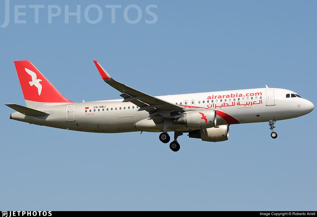CN-NMJ - Airbus A320-214 - Air Arabia Maroc