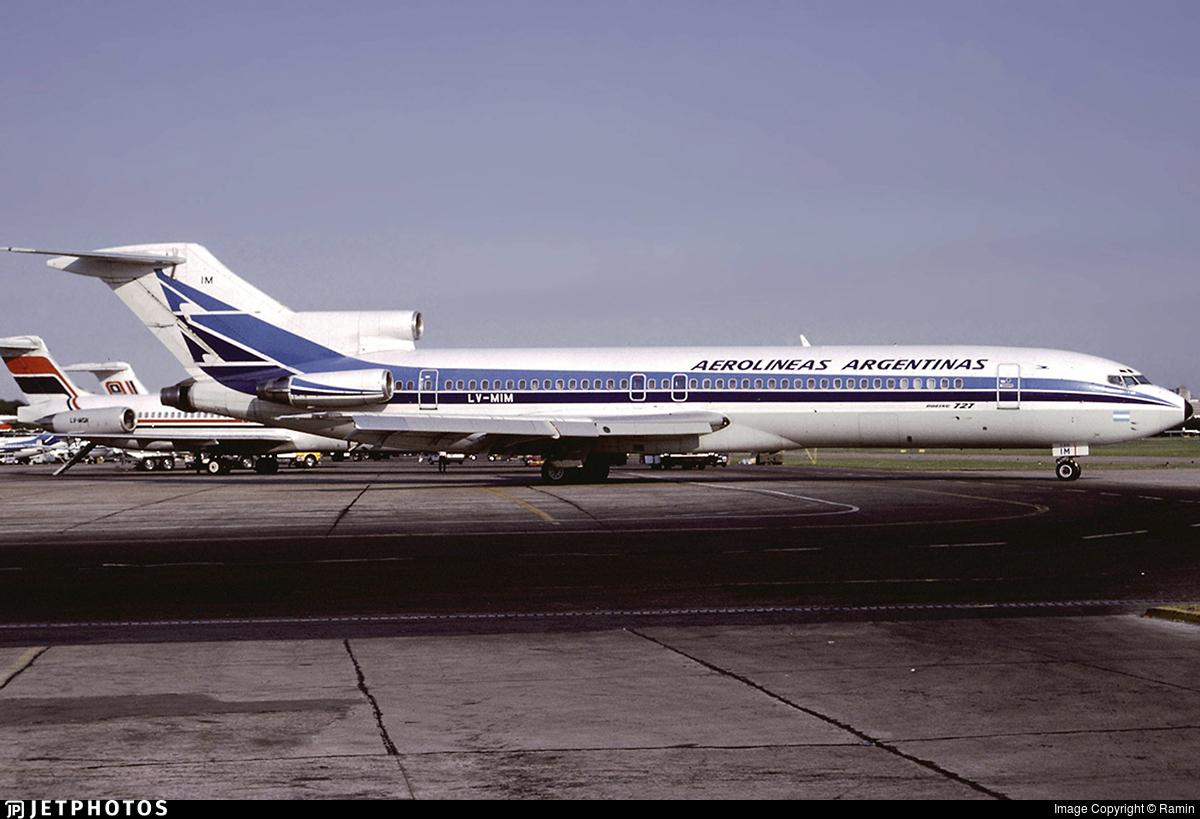 LV-MIM - Boeing 727-287(Adv) - Aerolíneas Argentinas