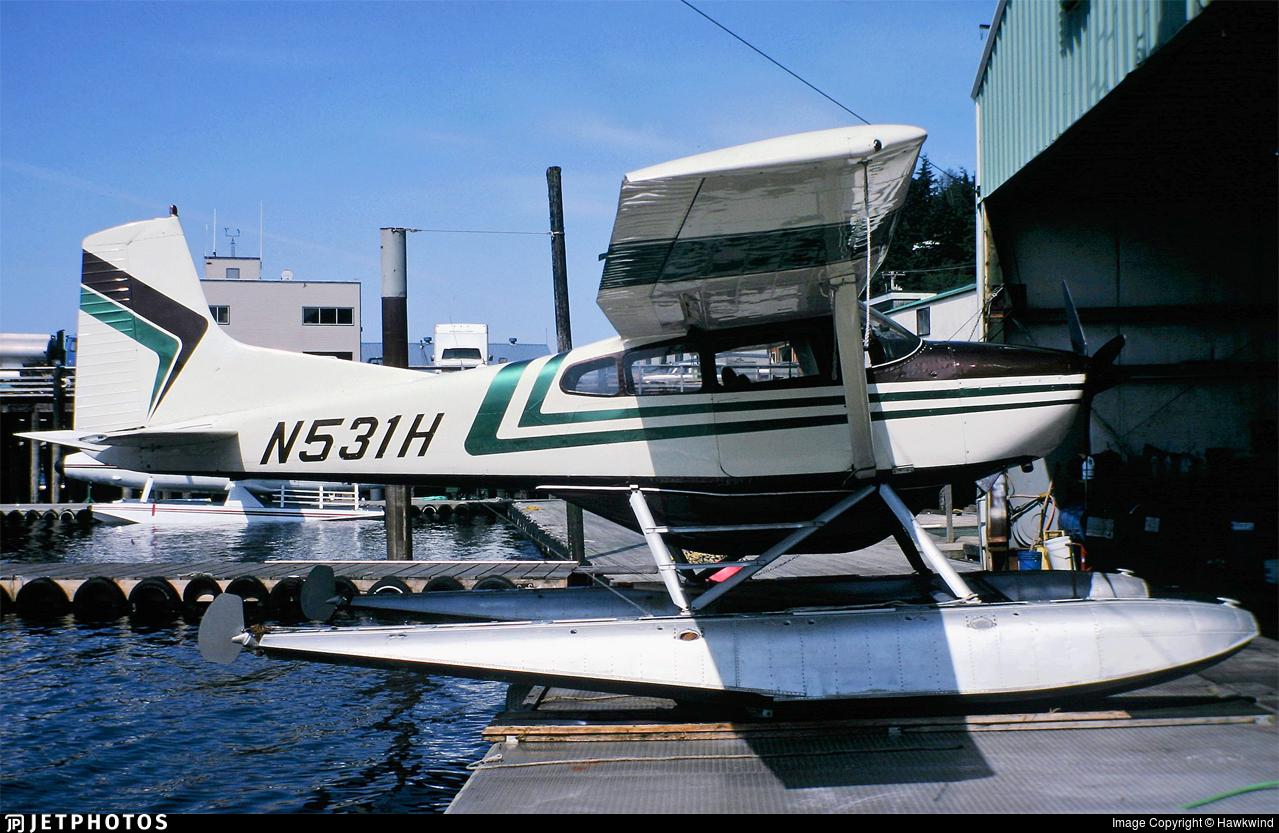 N531H - Cessna A185E Skywagon - Private