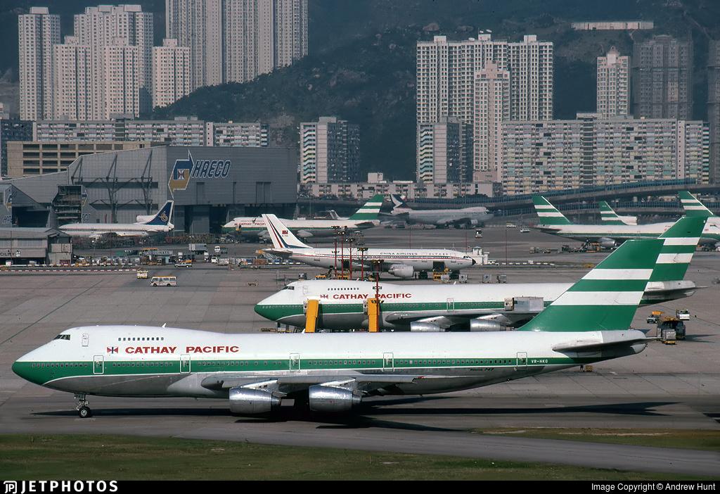 VR-HKG - Boeing 747-267B - Cathay Pacific Airways