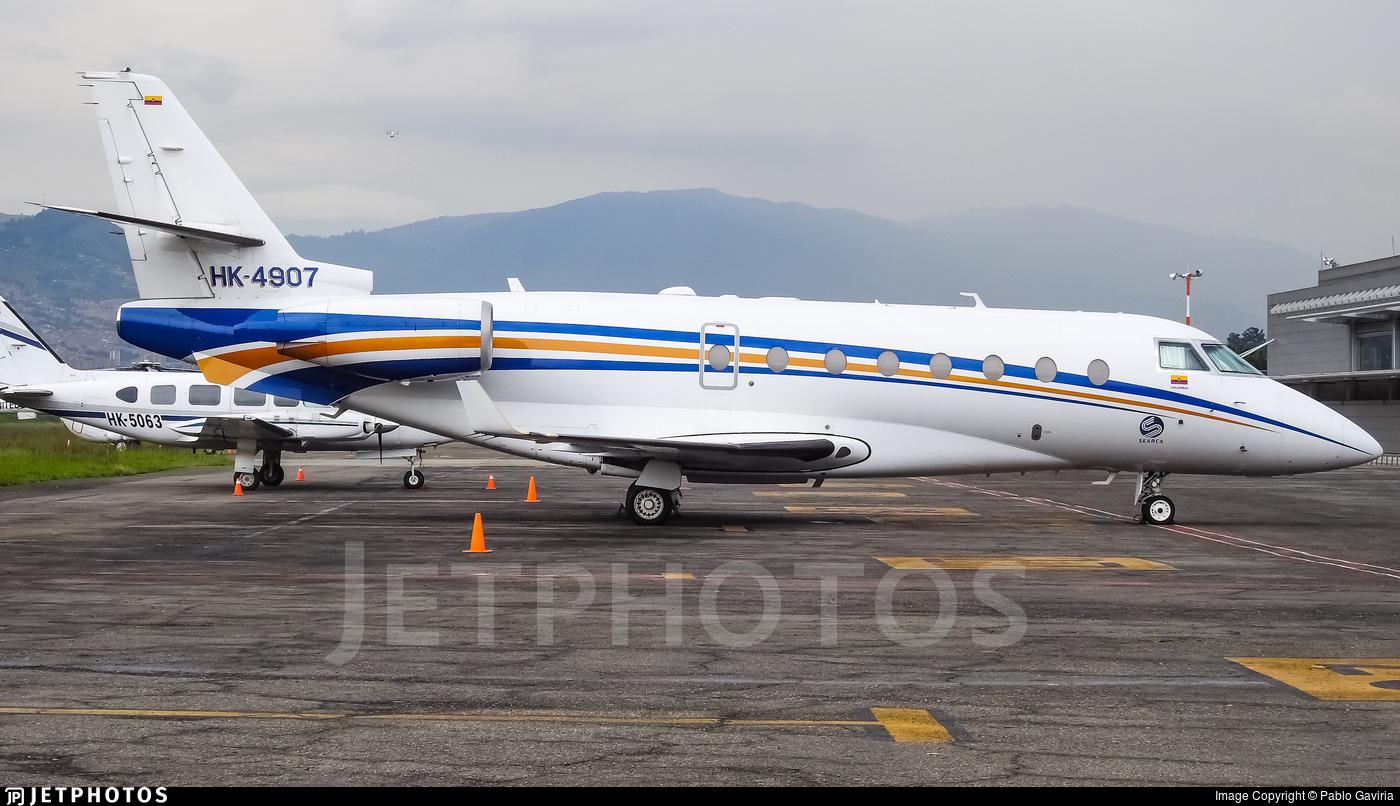 HK-4907 - Gulfstream G200 - Searca - Servicio Aéreo de Capurgana